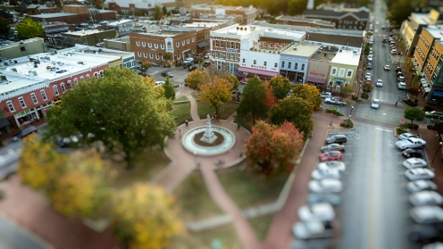Bentonville Sqauare and Walmart Museum